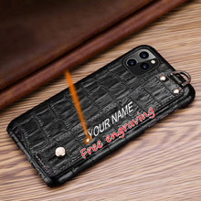 Load image into Gallery viewer, Genuine Leather back case for iPhone 11/11Pro/11Pro Max Xs Max
