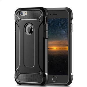 Rugged Layer Armor Case for iPhone 11 Pro Max 2019 5S 5 Se 5C 6 6S 7 7G 8 Plus X XR XS Max