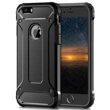 Load image into Gallery viewer, Rugged Layer Armor Case for iPhone 11 Pro Max 2019 5S 5 Se 5C 6 6S 7 7G 8 Plus X XR XS Max