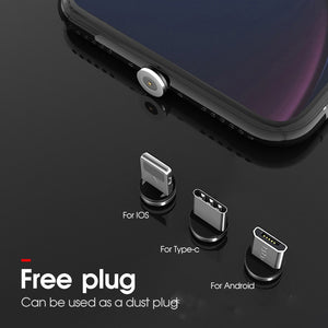 Magnetic Cable Micro USB Type C Cable For iPhone 11 Samsung Xiaomi Huawei Fast Charging Magnetic Charger USB C Cables 1M