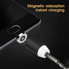 Load image into Gallery viewer, Magnetic Cable Micro USB Type C Cable For iPhone 11 Samsung Xiaomi Huawei Fast Charging Magnetic Charger USB C Cables 1M