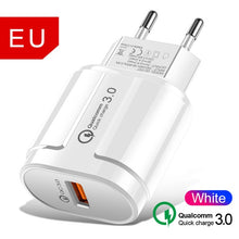 Load image into Gallery viewer, USB  fast Charger For iPhone 11 Pro 7 8 , 5V 3.1A Wall Charger 3 USB Fast Charging Wall Phone Charger For iPhone Samsung Xiaomi Huawei