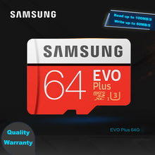Load image into Gallery viewer, SAMSUNG SD Card 64 gb  MicroSd 128gb, 4K Video Full HD U1 U3 SDHC SDXC TF Card for Drone & Cellphone