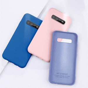 Baby skin feel Case For iPhone 11 Pro Max Silicone Color Soft Cover for iPhone X XR Case iPhone 6 6S 7 8 Plus XS Max Phone Shell