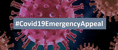 Join us in supporting the #Covid19EmergencyAppeal