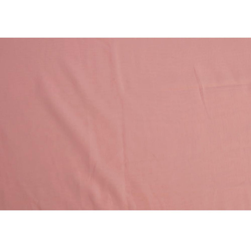 FFAB Remnant Collection | High Twisted Cotton Voile Fabric | Flamingo Color | 1.35 Mtr Piece
