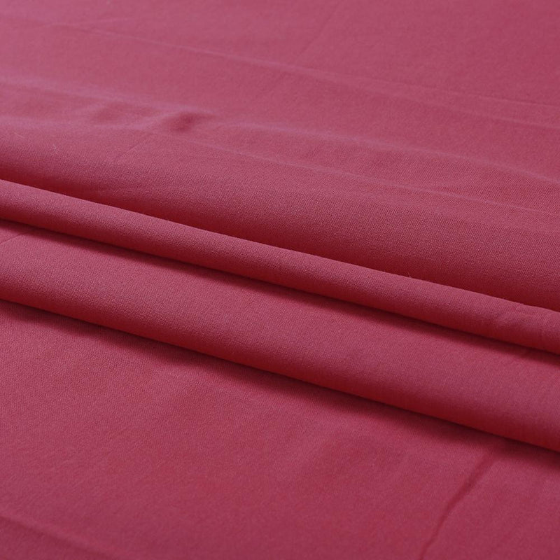 FFAB Remnant Collection | High Twisted Cotton Voile Fabric | Coral Color | 2.10 Mtr Piece