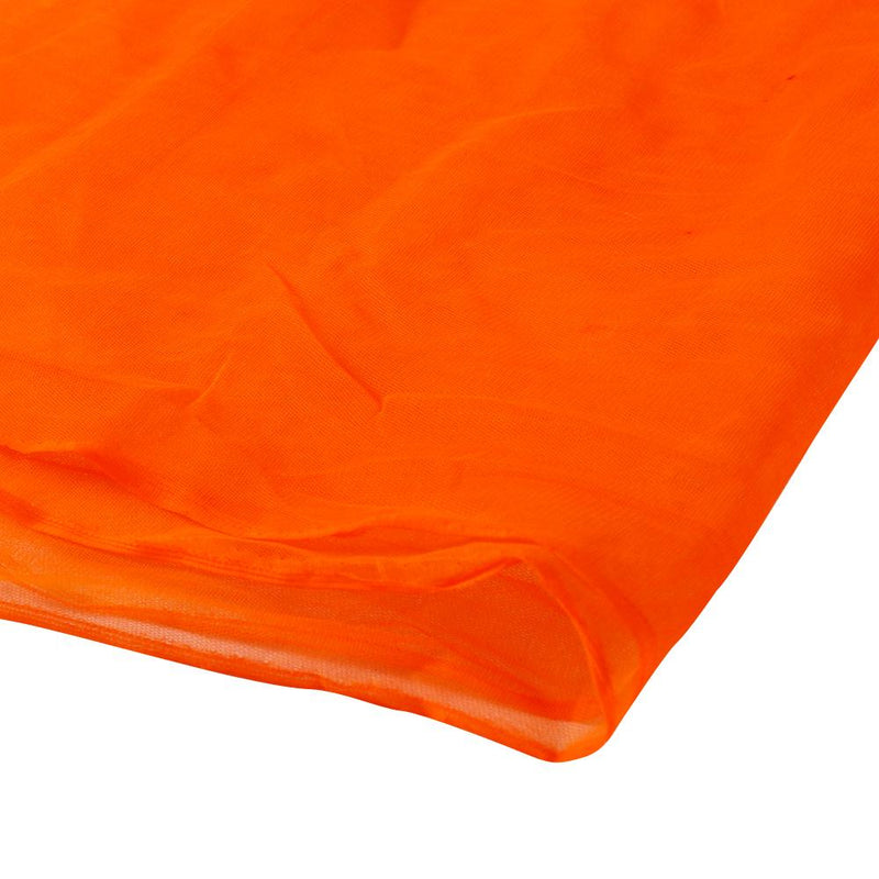 FFAB Remnant Collection | Butterfly Net Fabric | Orange Color | 1.85 Mtr Piece