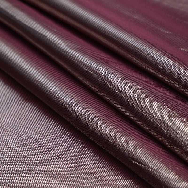 FFAB Fabric Collection | Metallic Dupion Silk Fabric | Prism Pink and Silver Color
