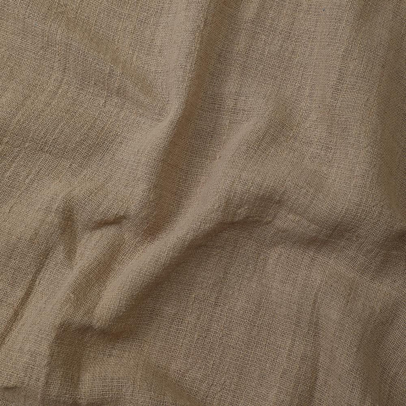 FFAB Fabric Collection | Cotton Viscose Slub Fabric | Peanut Color