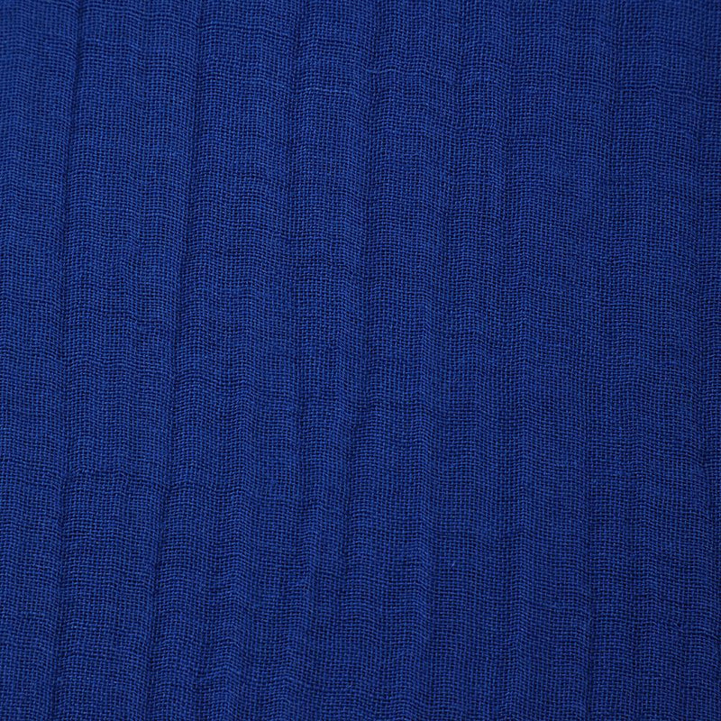 FFAB Fabric Collection | Cotton Linen Crush Fabric | Blue Color