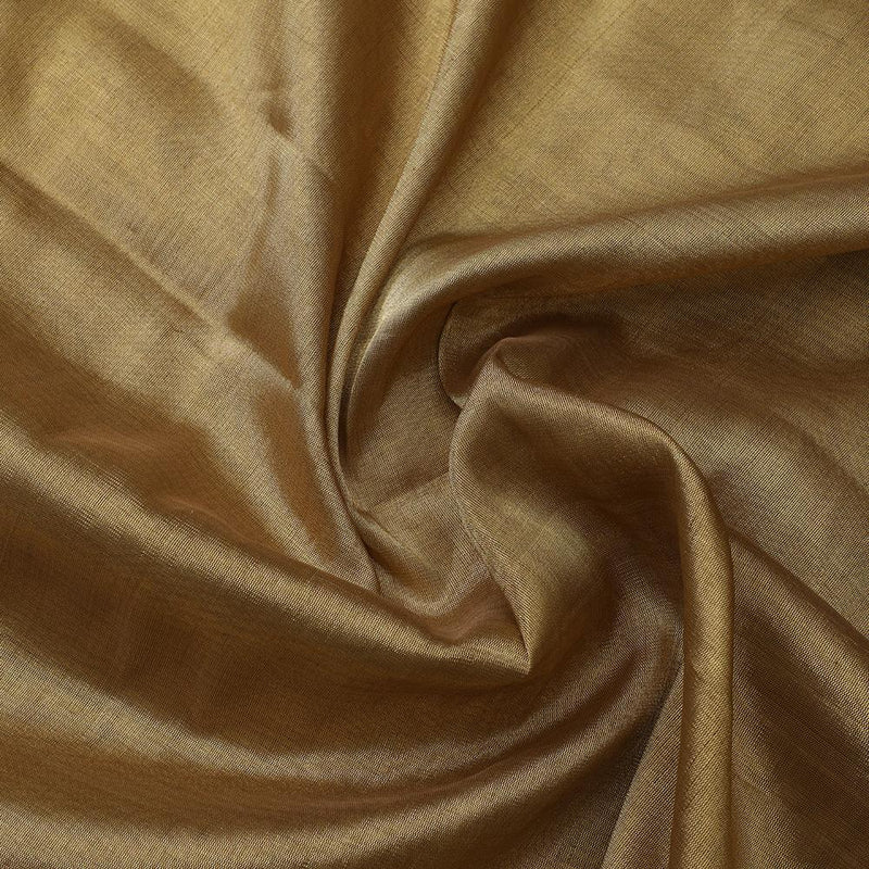 FFAB Fabric Collection | Handwoven Fine Tissue Fabric | Golden Color