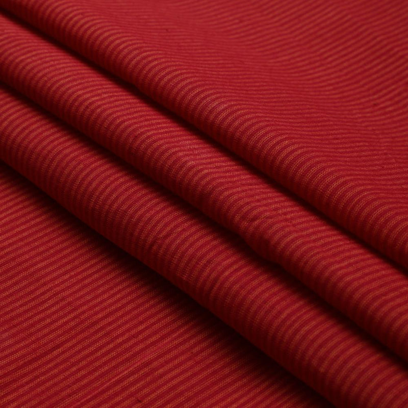 FFAB Fashion Fabric Collection | Mangalgiri Cotton Fabric | Red and Orange Color