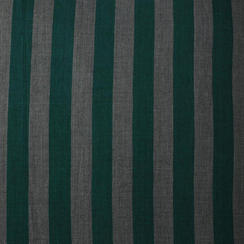 FFAB Fabric Collection | Yarn Dyed Cotton Muslin Fabric | Green-Grey Color