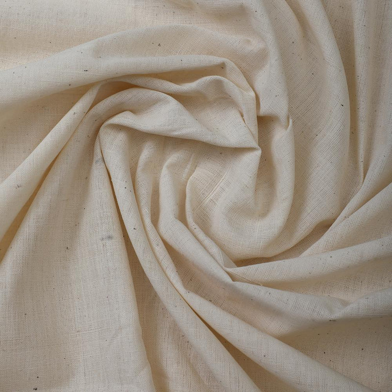 FFAB Fabric Collection | Muslin Cotton Fabric | Off White Color