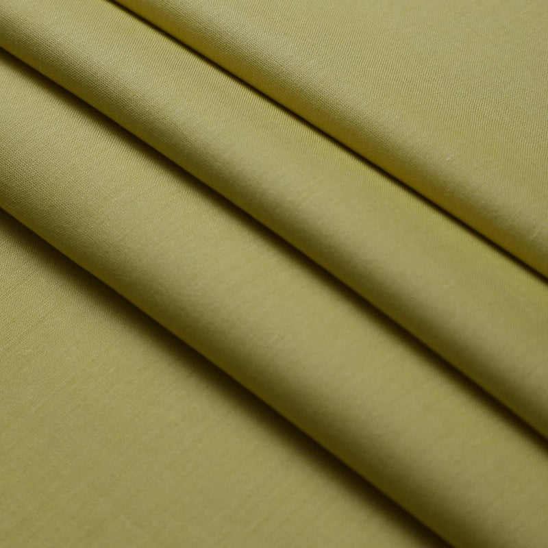FFAB Fabric Collection | Cotton Volie Fabric | Yellow Color