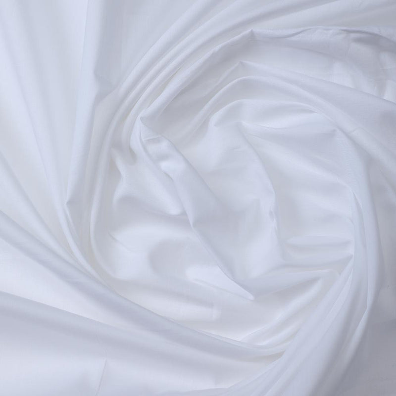 FFAB Fabric Collection | Cotton Tanna Lawn Fabric | White Color