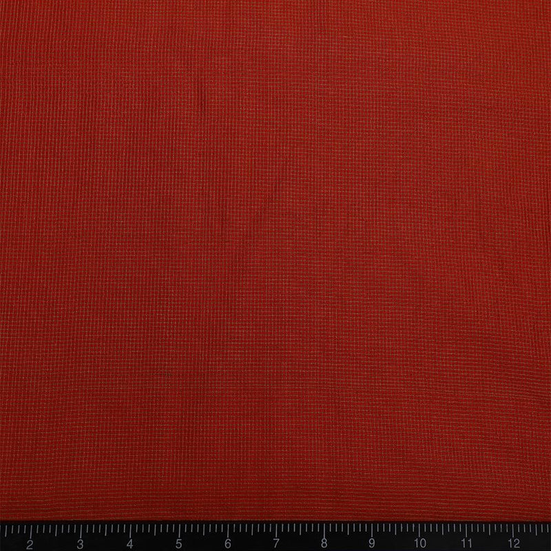 FFAB Fabric Collection | Kora Dupion Silk Fabric | Orange Color