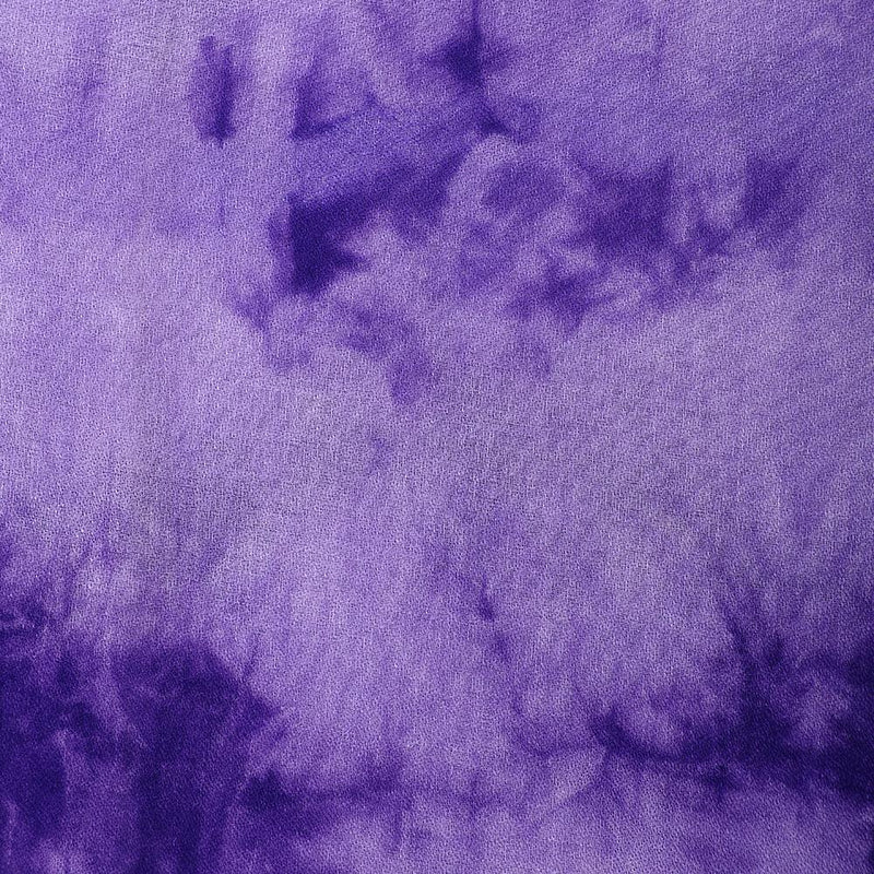 FFAB Fabric Collection | Handcrafted Batik Print on Cotton Fabric | Purple Color