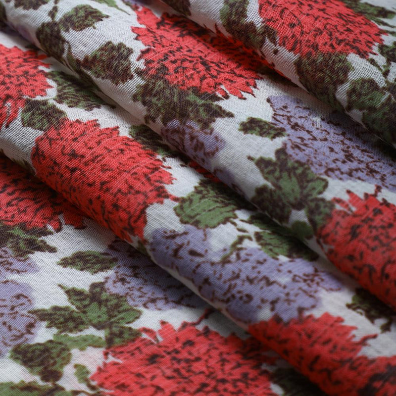 FFAB Fabric Collection | Print on Fine Muslin Fabric | Multi Color