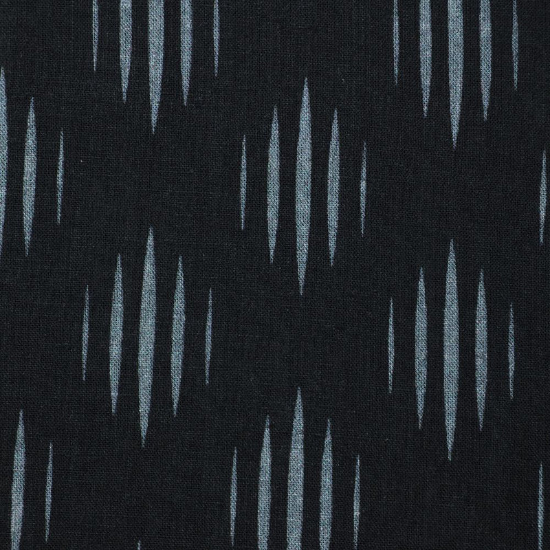 FFAB Fabric Collection | Digital Print on Linen Excel Fabric | Black and White Color