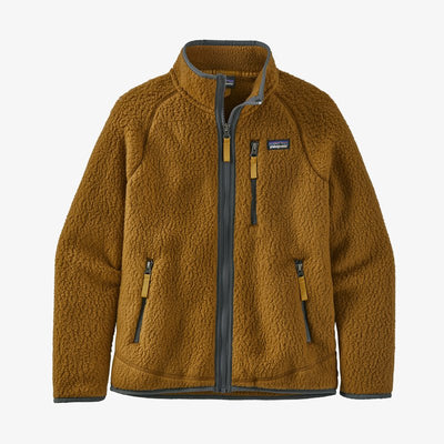 Boys' Retro Pile Jacket-MULB