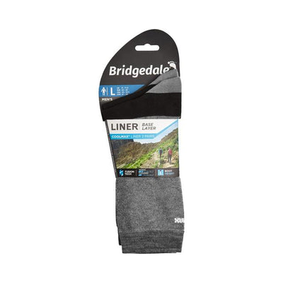 Coolmax Liner Socks, 2 pack-GREY_0afd6d04-29d8-4c86-8708-3e9526af5348