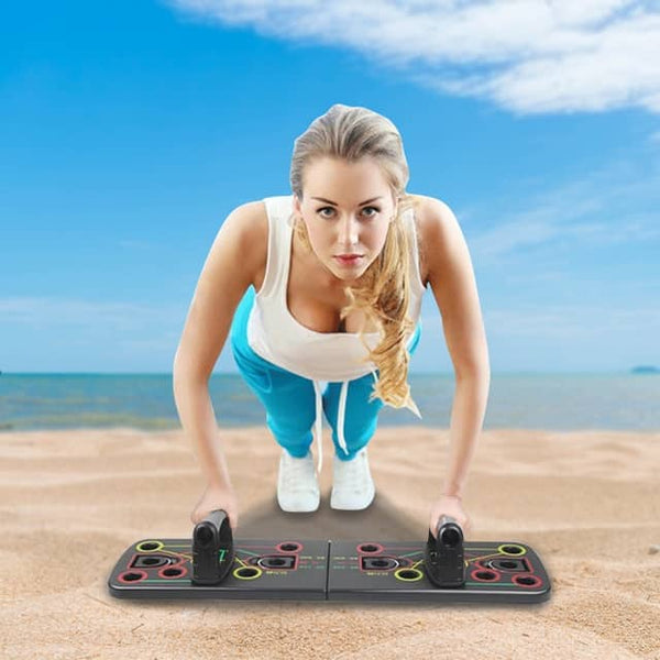 PORTABLE MULTI-POSITION PUSH UP PLATE