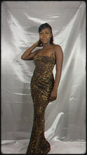 Load and play video in Gallery viewer, QUEEN OF THE JUNGLE MAXI DRESS