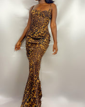 Load image into Gallery viewer, QUEEN OF THE JUNGLE MAXI DRESS