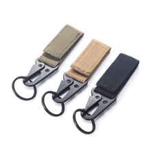 Load image into Gallery viewer, Outdoor Camping Equipment Carabiner Military Buckle Hunting Equipment Lock Kyechain Keyring Jewelry - ZainO