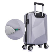 Load image into Gallery viewer, 20/24inch travel suitcase  Rolling Luggage sets Spinner trolley case Woman Cosmetic bag carry-on luggage  on wheels - ZainO