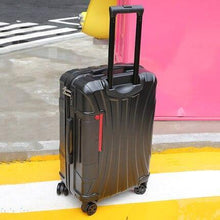 "Load image into Gallery viewer, PC Rolling Suitcase with Cup holder,Travel Luggage Bag ,Universal wheel trip Trolley Case,20""22""24""26""28"" inch High quality Box - ZainO"
