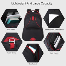Load image into Gallery viewer, 14W Foldable Solar Power Outdoor Portable Canvas Dual Shoulders Laptop Backpack, USB Output: 5V 2.1A Max( - ZainO