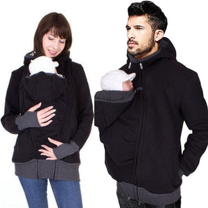 Fashion Baby Carrier Jacket Kangaroo Hoodies Women Outerwear Coat For Pregnant Womens Maternity Clothes - ZainO