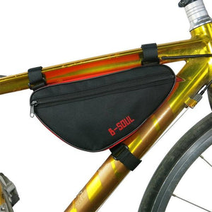 Bicycle Bag Waterproof Bike Triangle Bag Storage Mobile Phone Cycling Bag Bike Tube Pouch Holder Saddle Pannier Accessories - ZainO