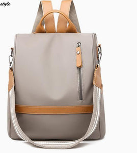 Anti-theft women ladies large capacity backpack high quality bagpack waterproof Oxford women backpack sac a dos - ZainO