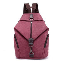 Load image into Gallery viewer, QINRANGUIO Women Backpack Fashion Canvas Backpack Large Capacity School Bags for Teenage Girls Backpack Female Backpack Women - ZainO