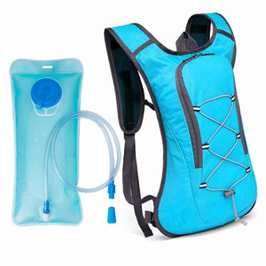 8L Breathable Ultralight Cycling Backpack Pouch Hiking Rucksack Bicycle Water Bag Bike Cycling Bag 2L Water Bag - ZainO