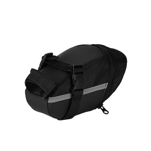 Outdoor Waterproof Bicycle Tail Bag Cycling Bike Back Seat Oxford Cloth Saddle Bag For BikeTail Backpack Black - ZainO