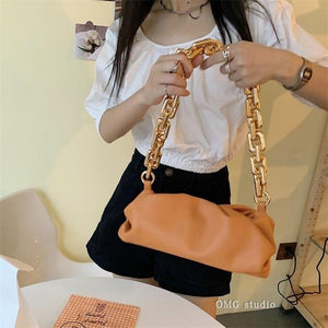 Bag For Women Cloud bag Soft Leather Hobos Bag Single Shoulder Purse Women Crossbody Bag Luxury Handbag And Purse Day Clutches - ZainO