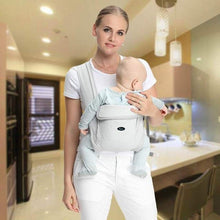 Load image into Gallery viewer, Baby Carrier Natural Cotton Ergonomic Backpack Carrier Kangaroo Baby Sling Easy Wearing  Newborn Infant Toddler - ZainO
