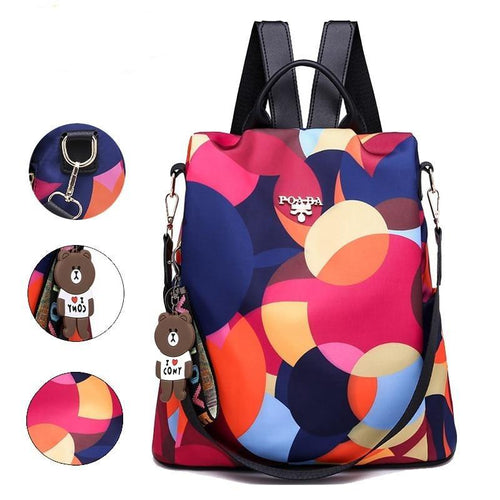 Fashion backpack women shoulder bags large capacity women backpack school bags for teenage girls light ladies travel backpack - ZainO