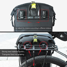 Load image into Gallery viewer, 25L Waterproof Bike Bag MTB Road Bike Bicycle Rear Rack Pannier Bag Cycling Rear Seat Bag Shoulder Bag Bike Accessories - ZainO