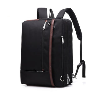 Handbag Backpack 17.3 Inch Laptop Backpack Business Backpack Fashion Travel Backpack male cross body for men - ZainO