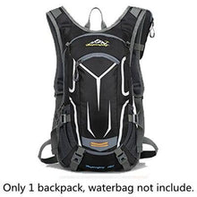 Load image into Gallery viewer, 18L Waterproof Backpack Outdoor Sport Backpack Water Bag Camping Hiking Cycling Water Backpack with Free Raincover - ZainO
