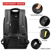 Load image into Gallery viewer, No Key Anti theft TSA Lock Fashion Men Backpacks 15.6inch USB Charging Laptop Backpack 2020 School Backpack For Men For Teenager - ZainO