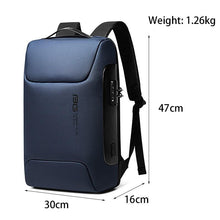 Load image into Gallery viewer, Backpack Men New  Backpack Computer15.6 Inch Backpack  USB Interface Men's Waterproof Large Capacity Shoulder Bags   for Trip - ZainO