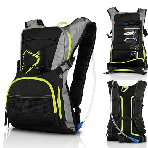 Motorcycle New Waterproof Backpack Outdoor Sport Backpack Water Bag Camping Hiking Cycling Water Backpack Tool Bag - ZainO