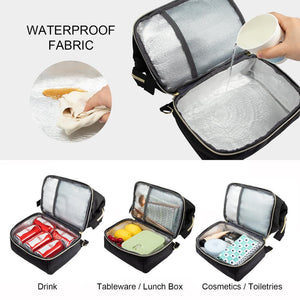 multifunctional bag canvas unisex waterproof leakproof anti-thieft for lunch school work travel 2020 - ZainO
